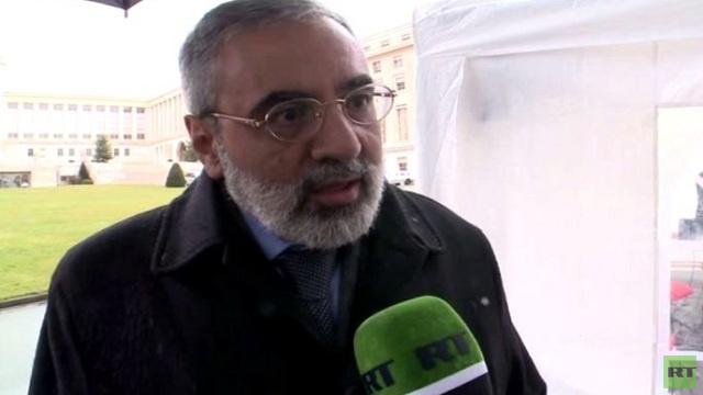 عمران الزعبي: يجب أن يمثل وفد المعارضة جميع أطياف المجتمع السوري