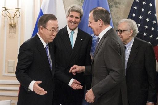 سورية وأوكرانيا على أجندة لقاء لافروف وكيري في ميونيخ