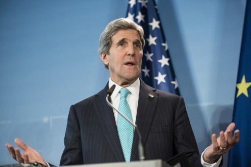 كيري: العلاقات الامريكية الألمانية تعيش فترة عاصفة بسبب فضيحة التجسس
