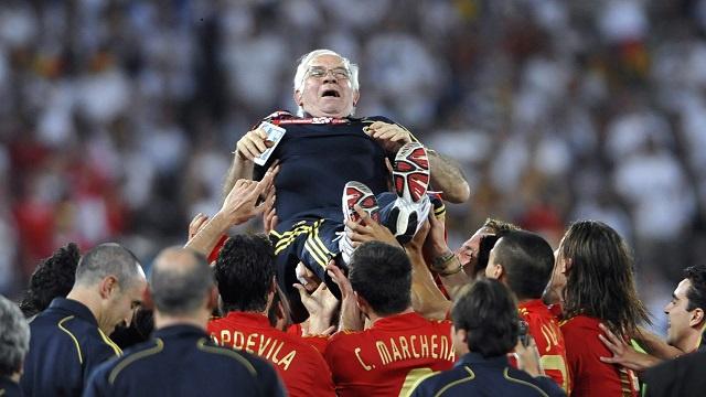 رحيل أراغونيس مدرب المنتخب الإسباني سابقا إلى مثواه الأخير