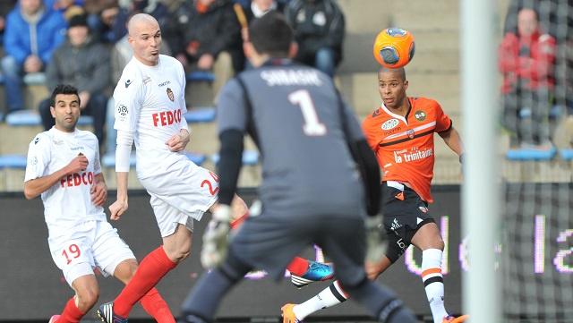 موناكو يتعثر خارج أرضه أمام لوريان