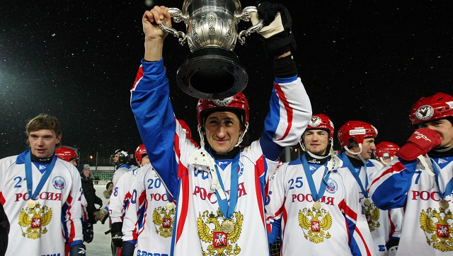 روسيا بطلة العالم للمرة الثامنة لهوكي الجليد بالكرة