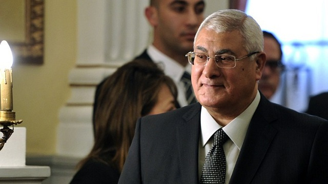 عدلي منصور: المصريون لن ينسوا الإسهام الروسي وعلينا أن نفعل علاقاتنا الاقتصادية والعسكرية مع موسكو
