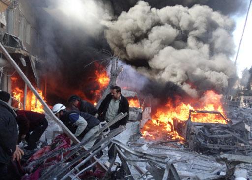 مراسلنا: تجدد القصف على مناطق في دمشق وريفها ودرعا وحلب
