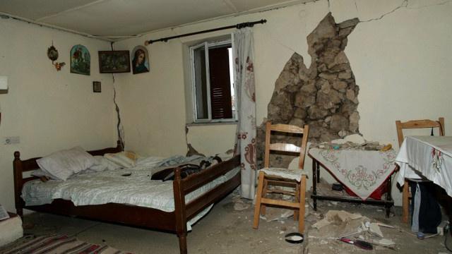 إصابة 10 أشخاص في زلزال شمال غرب اليونان