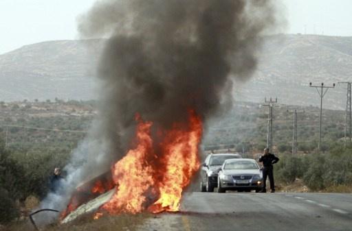 مقتل شخصين بانفجار سيارة في إسرائيل