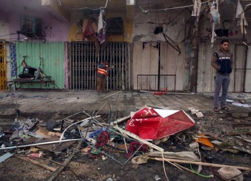 عشرات القتلى والجرحى بتفجيرات تضرب بغداد