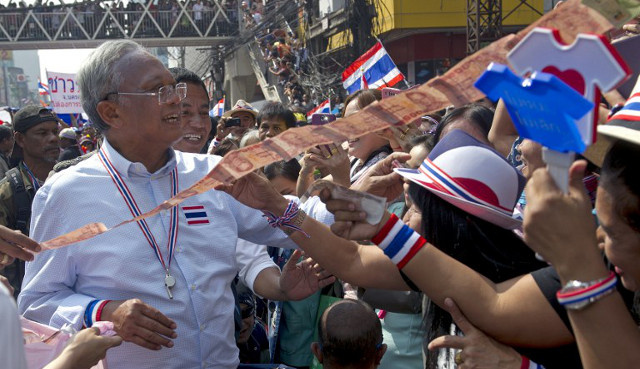 المعارضة التايلاندية تؤكد مواصلة التظاهر ضد الحكومة