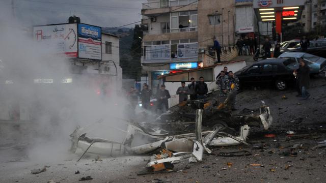 قتيل وجريحان في انفجار قرب مفرق محطة الريشاني جنوب بيروت