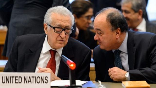 استقالة ناصر القدوة من منصب نائب المبعوث الأممي والعربي إلى سورية