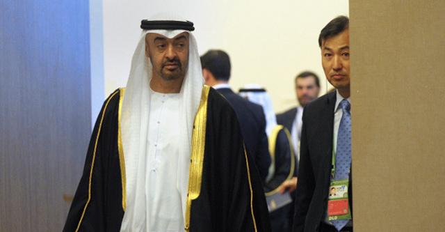 ولي عهد أبوظبي ينفي وجود خلافات مع قطر ويؤكد على استقرار الحالة الصحية لرئيس الامارات