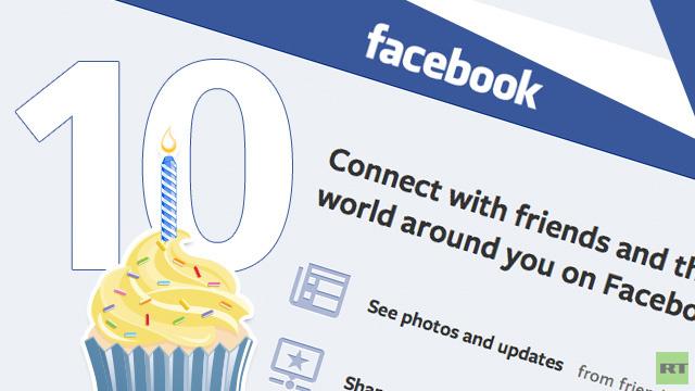 الفيسبوك يحتفل اليوم بعيد ميلاده العاشر وفيه أكثر من مليار مستخدم