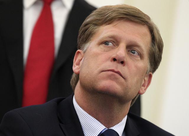 لافروف يجري آخر لقاء مع السفير الأمريكي الذي يغادر موسكو قريبا