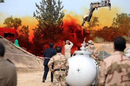 منظمة حظر الكيميائي تؤكد تدمير ليبيا كامل مخزونها من الأسلحة الكيميائية (فيديو)