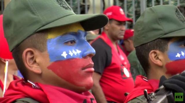 بالفيديو.. آلاف الفنزويليين يحتفلون بذكرى محاولة انقلاب 1992