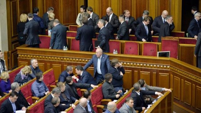 كتل البرلمان الأوكراني تفشل في الاتفاق على جدول أعمال الدورة الجديدة