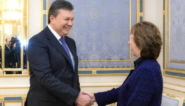 اشتون تؤكد استعداد الاتحاد الأوروبي لتقديم دعم مالي لأوكرانيا على المدى الطويل