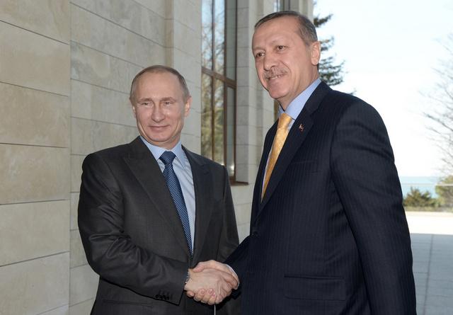 بوتين يشكر اردوغان على جهود الشركات التركية في التحضير لأولمبياد سوتشي