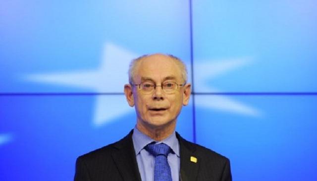 رئيس المجلس الأوروبي يدعو واشنطن إلى عدم التدخل في سياسة الاتحاد الأوروبي حيال أوكرانيا