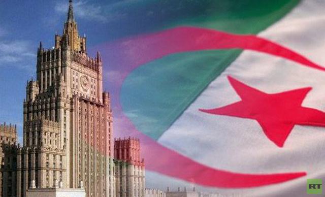 لافروف يبحث الأسبوع المقبل مع نظيره الجزائري الأوضاع في سورية والشرق الأوسط