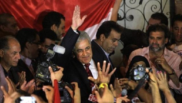 حمدين صباحي يعلن أمام أنصاره عن ترشحه للانتخابات الرئاسية في مصر
