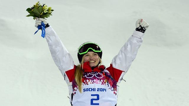الكندية ديوفور تهدي بلادها ذهبية التزلج الحر في سوتشي