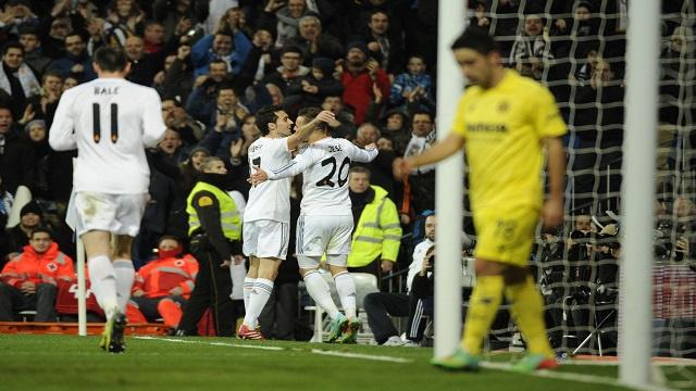 ريال مدريد يُغرق الغواصات الصفراء برباعية