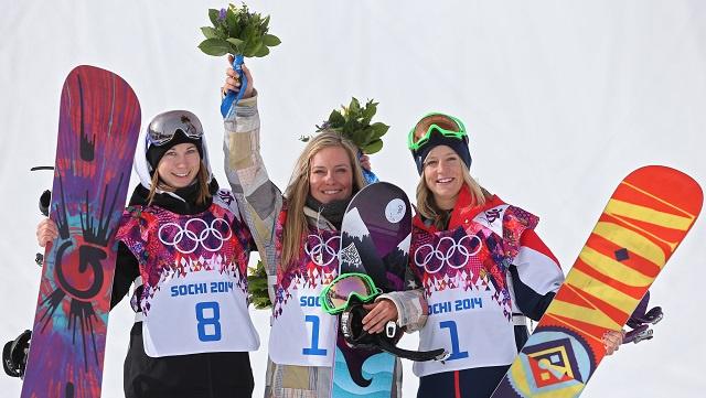 سوتشي 2014 .. أمريكا تهيمن على مسابقة التزلج على اللوح