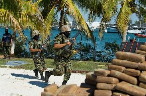 احتجاز زعيم إحدى جماعات تجارة المخدرات في المكسيك