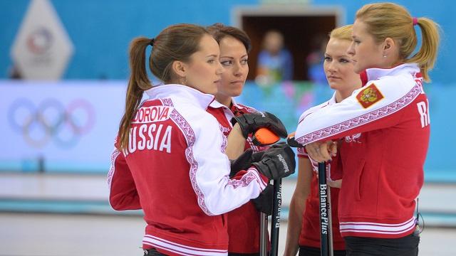 سوتشي 2014.. سيدات روسيا يهزمن الدنمارك في مسابقة الكيرلينغ
