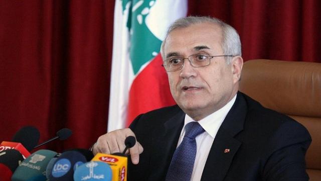ميشال سليمان يؤكد على ضرورة الاسراع في تشكيل الحكومة اللبنانية