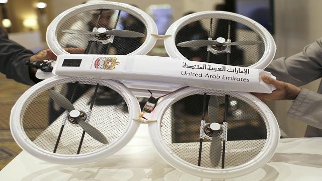 الإمارات الأولى عالمياً باستخدام الطائرات العمودية بلا طيار في الخدمات الحكومية