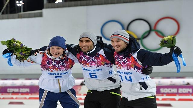 الفرنسي فوركاد ينال الذهبية الأولمبية في البياثلون (12.5 كلم)
