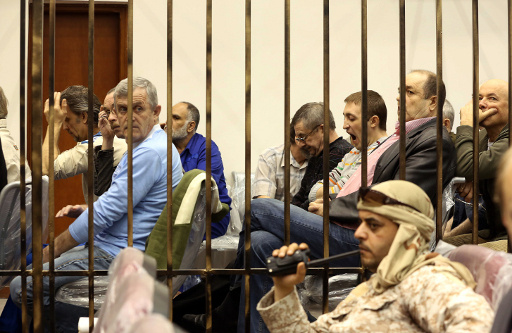 ليبيا.. انتهاء الجلسة الاولى من محاكمة اوكرانيين وروس دون نتيجة