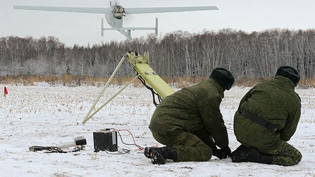 وحدات الاستطلاع الروسية تختبر نماذج جديدة من الطائرات بلا طيار