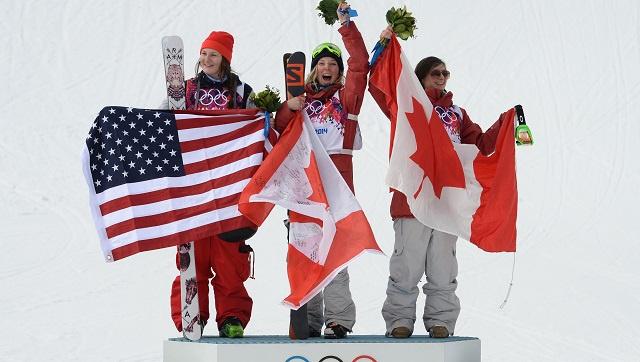 كندا تواصل حصد الميداليات في أولمبياد سوتشي