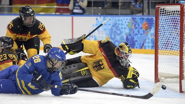أولمبياد سوتشي 2014 .. السويد تفوز على ألمانيا بالهوكي