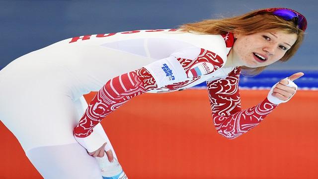 الروسية فاتكولينا تحرز فضية التزحلق الأولمبية
