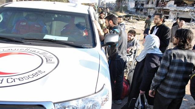 الأمم المتحدة تؤكد استمرار عمليات الاجلاء والإغاثة في حمص بسورية