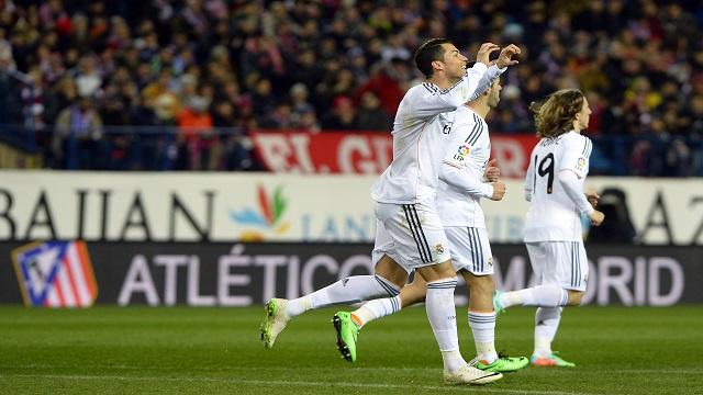 ريال مدريد يؤكد علو كعبه على أتلتيكو ويبلغ نهائي كأس الملك