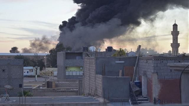 تعرض قناة تلفزيونية ليبية خاصة لهجوم بقذائف أر بي جي