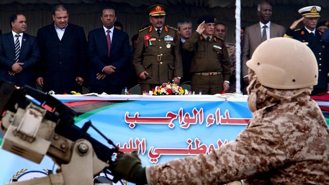 الجيش الليبي يقاضي ضباطا للإشتباه في تخطيطهم لإنقلاب