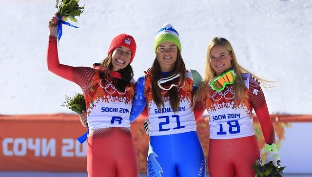 لأول مرة في أولمبياد سوتشي ذهبيتان في مسابقة واحدة