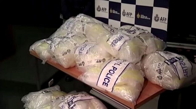 رجال الشرطة الأسترالية يحتجزون دفعة كبيرة من المخدرات الكيميائية