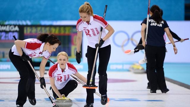 اليابان تفوز على روسيا بالكيرلينغ للسيدات في أولمبياد 2014