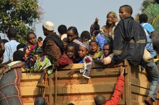 بان كي مون يدعو فرنسا لارسال قوات الى افريقيا الوسطى نظراً لتصاعد العنف