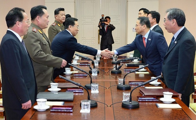تقدم ضئيل في اللقاء بين ممثلي الكوريتين