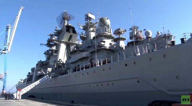 الأسطول الروسي يعتزم تحديث الطراد