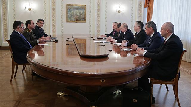 بوتين يعول على رفع التبادل التجاري مع مصر إلى 5 مليارات دولار