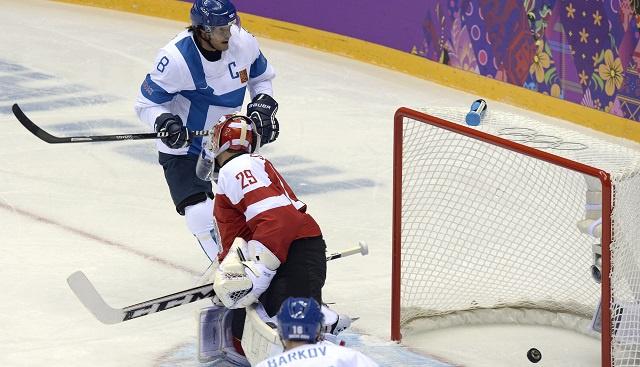 فنلندا تكتسح النمسا في افتتاح منافسات الهوكي للرجال في أولمبياد سوتشي